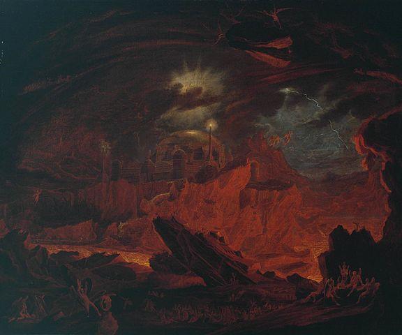 'The Fallen Angels' by John Martin