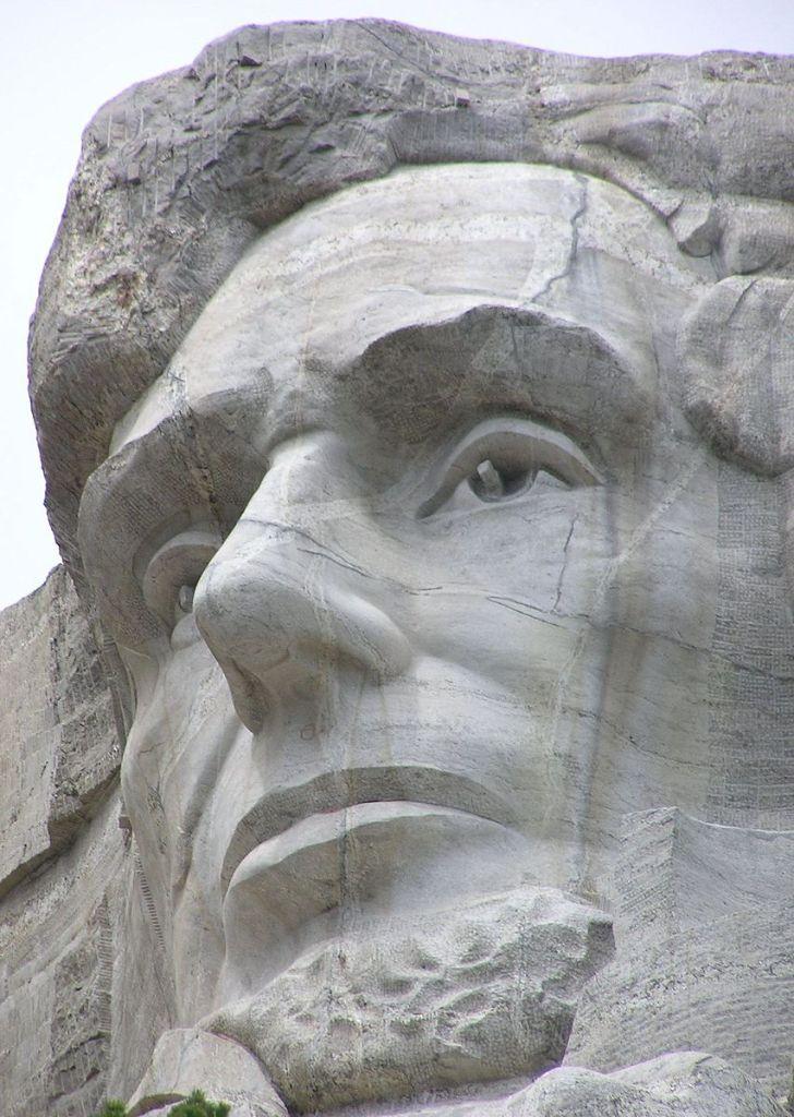 (photo of Abe on the Mountain by Scott Catron )