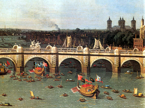 Canaletto's Westminster Bridge