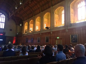 Audience at the Reveal in Bonython Hall