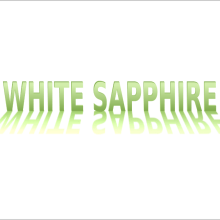 who can wear white sapphire