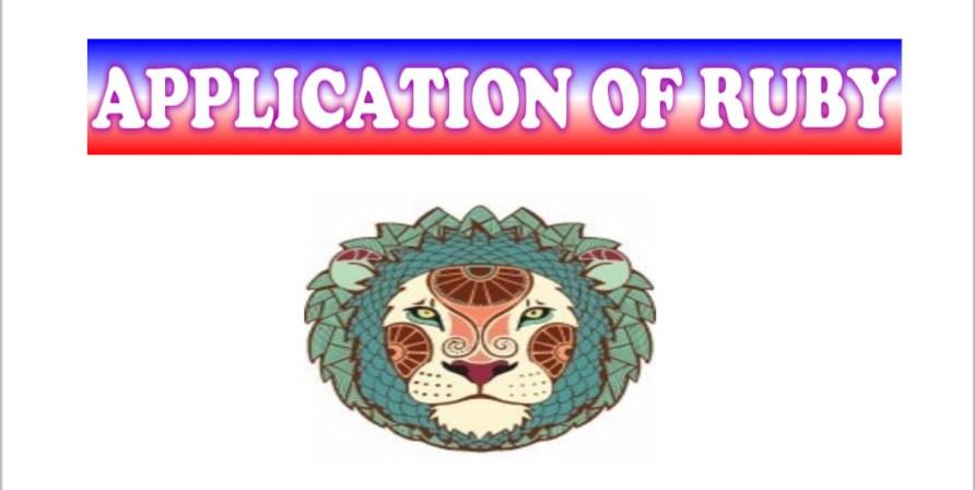 APPLICATION OF RUBY/MANIKYA GEMSTONE FOR ASCENDANTS