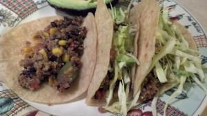 Vegan Quinoa Black Bean Tacos   Vegan Recipes