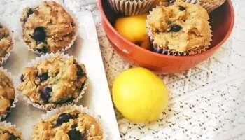 Vegan Lemon Blueberry Muffins   The Vegan Abroad