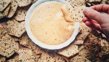 Low-Fat Vegan Nacho Cheese | The Vegan Abroad
