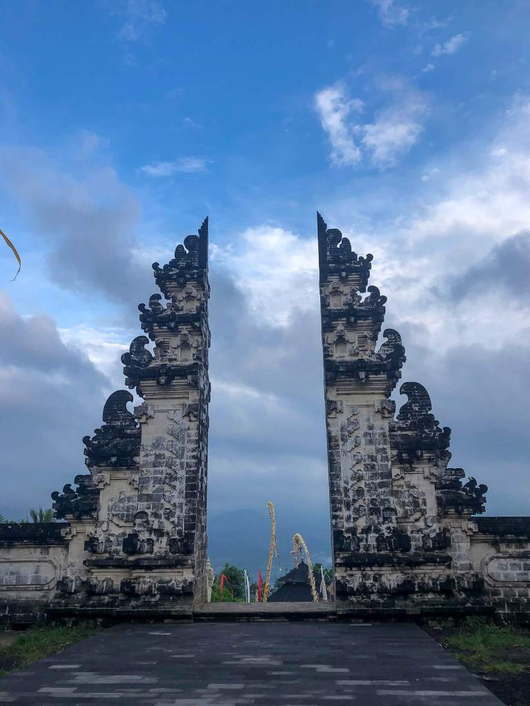 The Real Bali Gates of Heaven