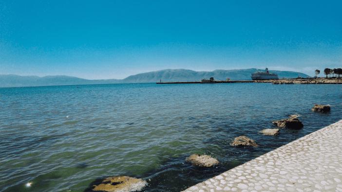 Sea in vlore albania