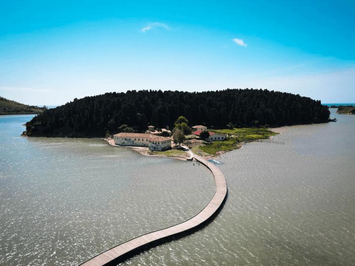 Zvernec Island
