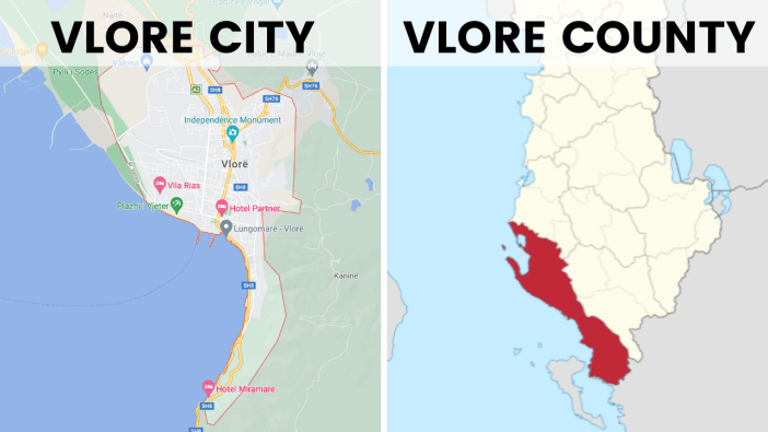 vlore city vs vlore county