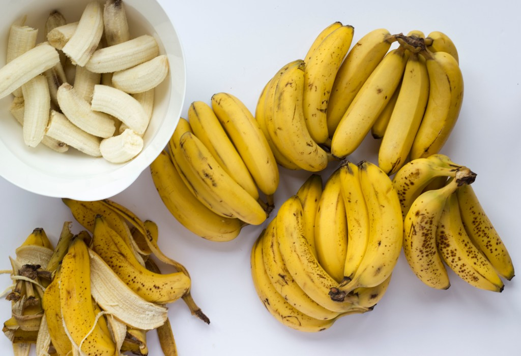 How to Freeze Bananas, Freezing Banana Trick