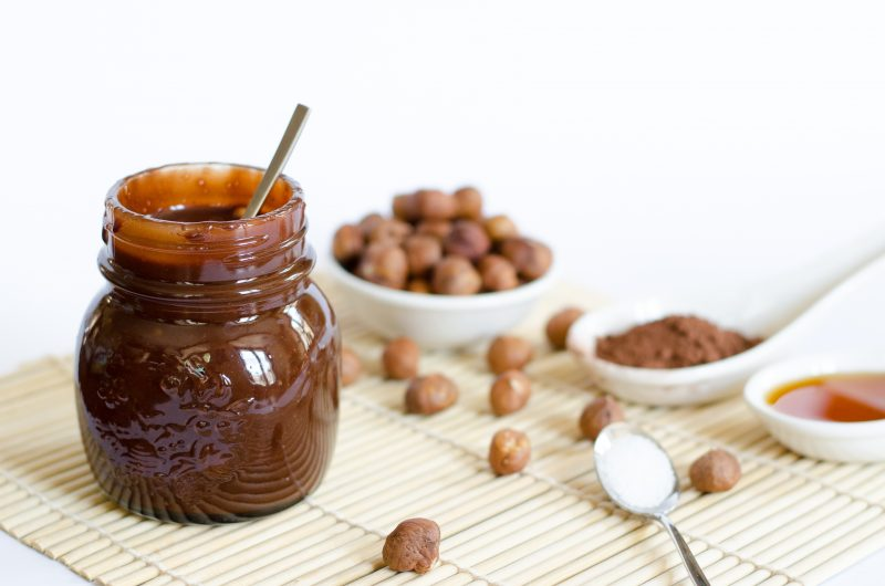 Nutella vegan e #healthy con 4 ingredienti