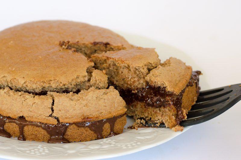 Torta facilissima alla veg-nutella