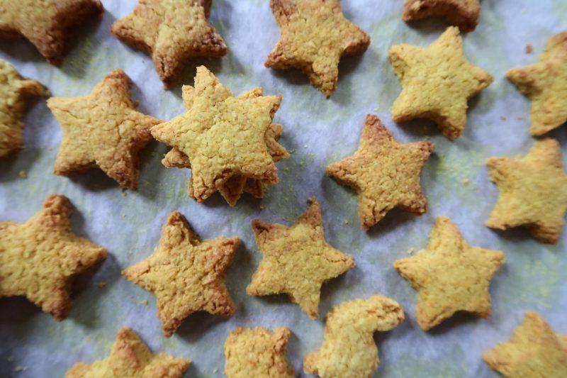 Biscotti alla curcuma senza glutine