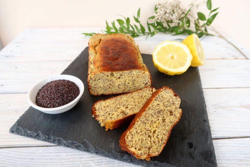 Plumcake proteico allo zenzero, limone e semi di papavero