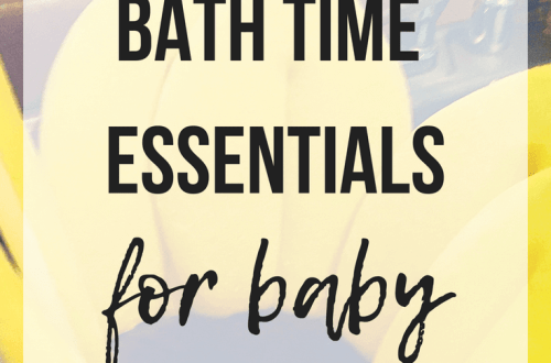 Bath Time Essentials For Baby | www.thevegasmom.com