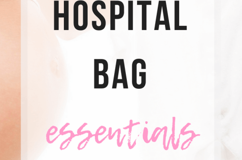 Hospital Bag Essentials | www.thevegasmom.com