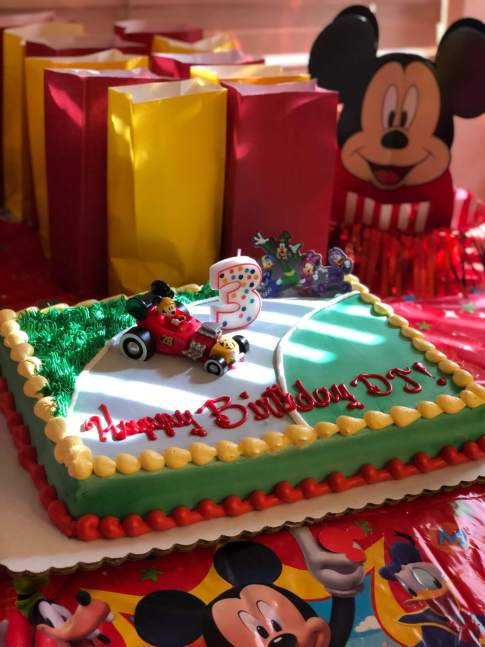 DJ's Third Birthday Party (Mickey Mouse Party) | www.thevegasmom.com