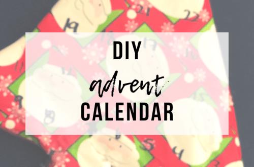 DIY Advent Calendar | www.thevegasmom.com