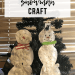 Tissue Paper Snowman Craft | www.thevegasmom.com
