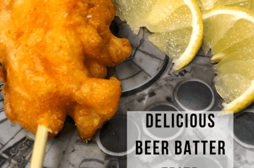 Beer Battered Lobster Tails | www.thevegasmom.com