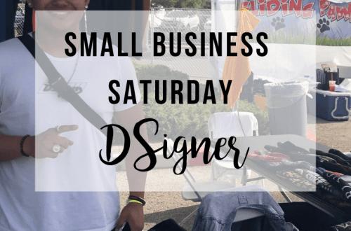 Small Business Saturday: DSigner | www.thevegasmom.com