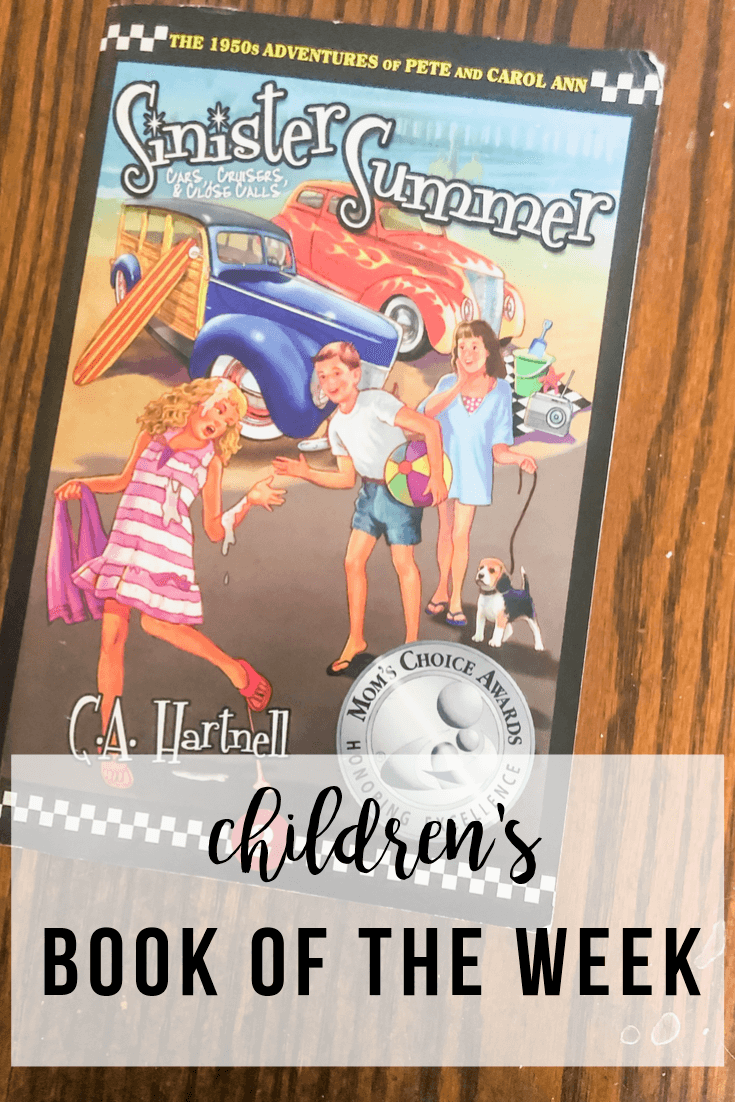 Children's Book of the Week: Sinister Summer by C.A Hartnell | www.thevegasmom.com