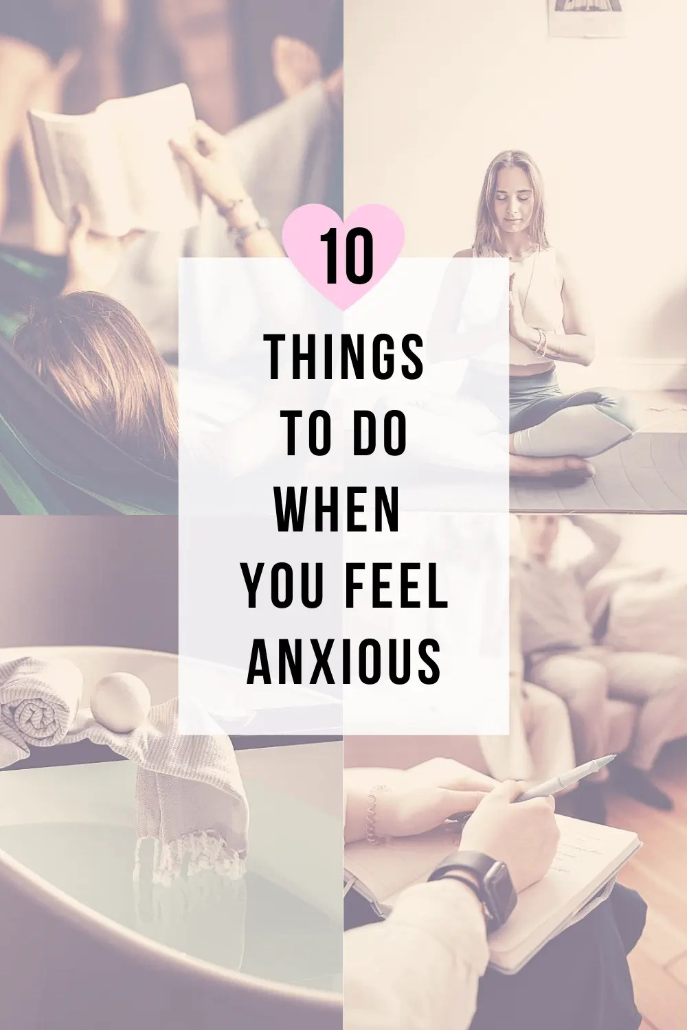 10 Things to do When You Feel Anxious | www.thevegasmom.com