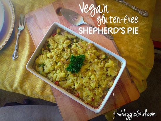Vegan, Gluten-Free Shepherd's Pie