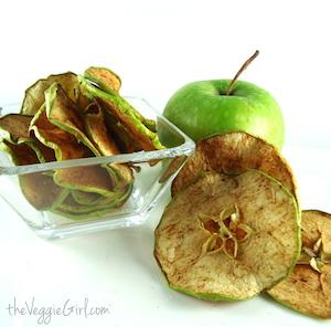 Crispy Apple Chips in the Dehydrator