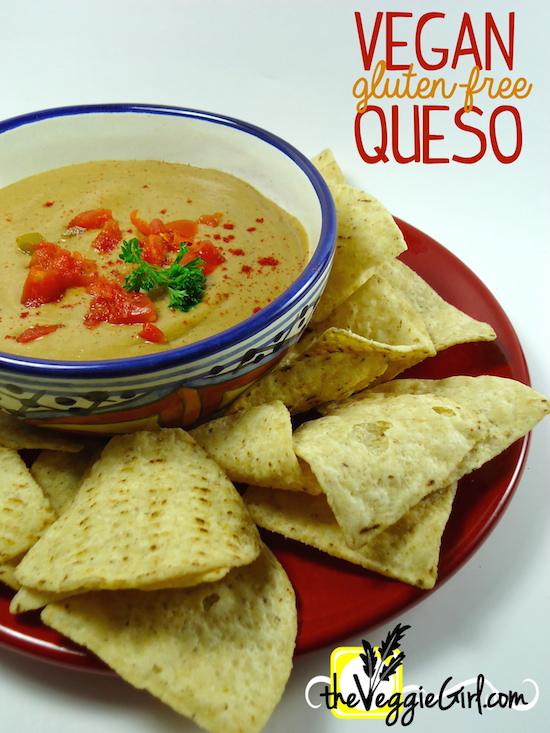 Vegan Gluten-free Queso | theVeggieGirl.com