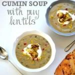 Roasted Cauliflower & Cumin Soup