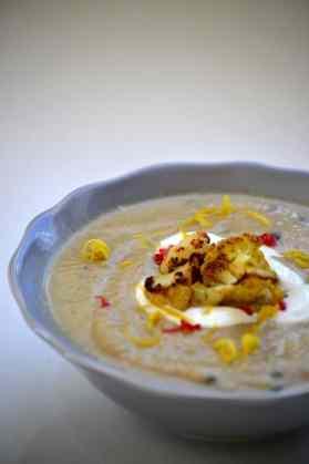 Roasted Cauloflower & Cumin Soup 2