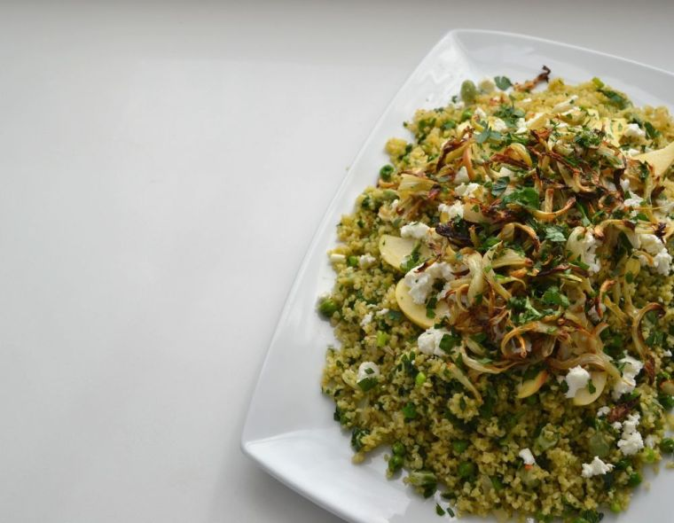Minted Bulgur Wheat with Fennel & Apple 2