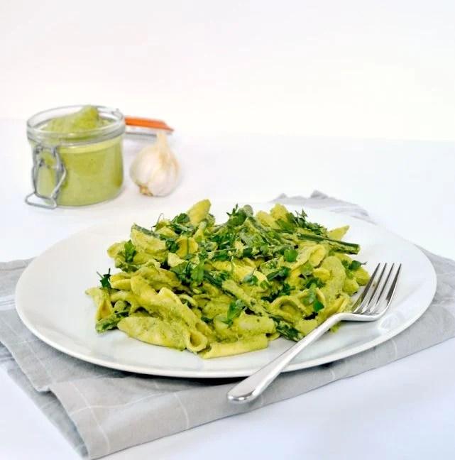 Broccoli & Walnut Pesto   The Veg Space