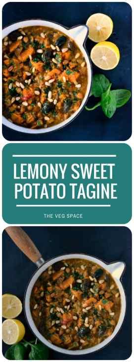 Lemony Sweet Potato Tagine