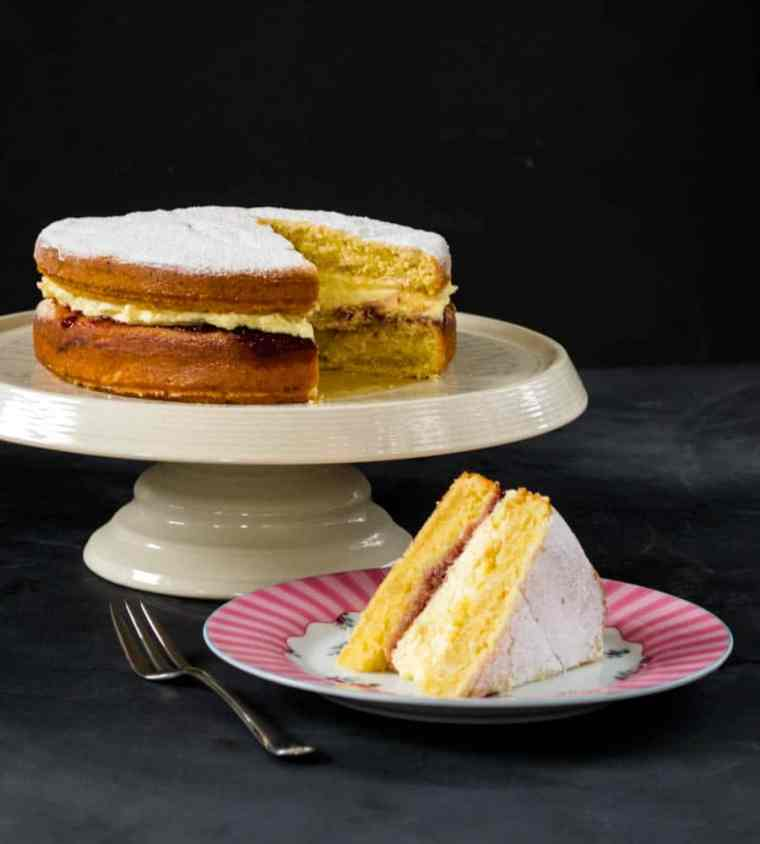 Ultimate Vegan Victoria Sponge