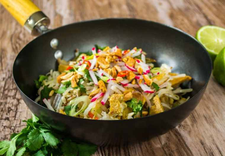 Ultimate Vegetarian Pad Thai