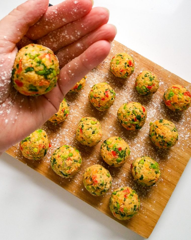 Grönsaksbullar Swedish Vegan Meatballs