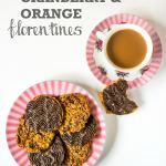 Cranberry & Orange Florentines | Vegan