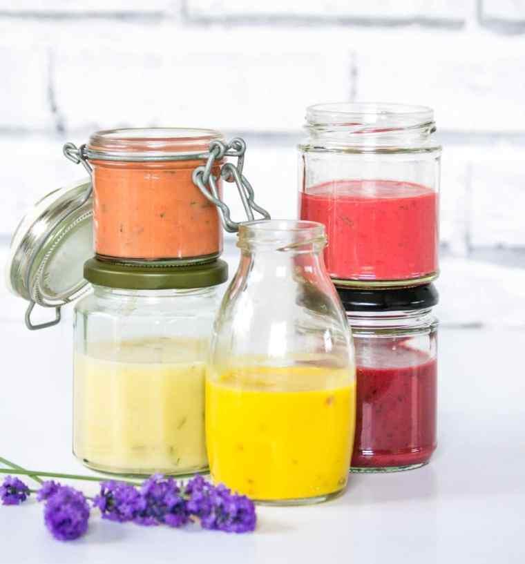Five Fruity Salad Dressings