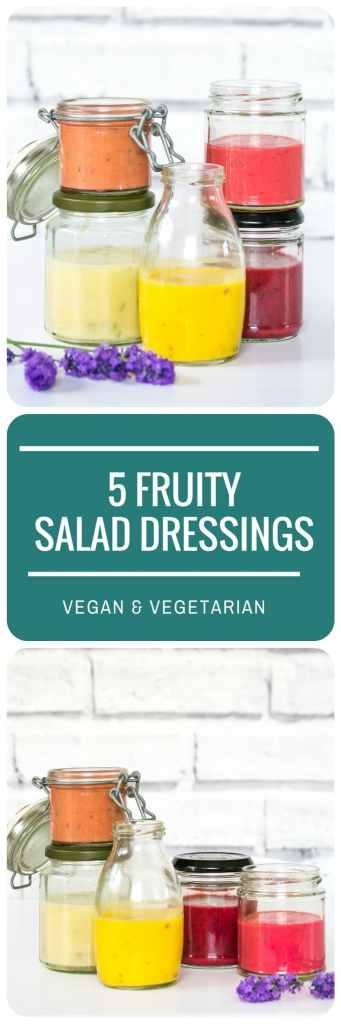 5 Fruity Salad Dressings