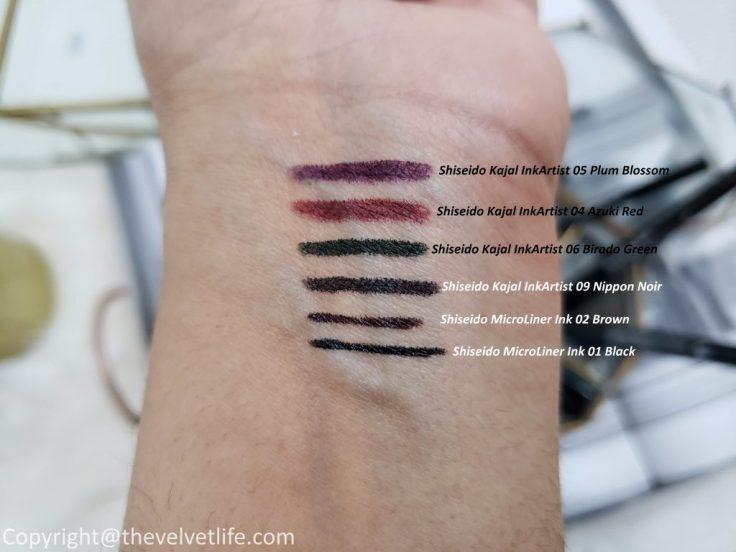 Shiseido MicroLiner Ink, Kajal InkArtist