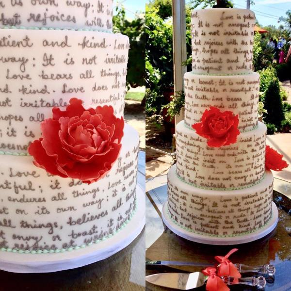 Wedding cakes venue vixens if you dont have a cake or dessert project on the horizon go pick up a fun little dessert from their cold cases just for yourself solutioingenieria Image collections