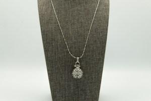 Ornate Ball Large Diffuser Necklace | The Vera Soap Company