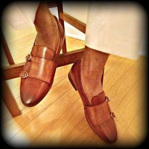 Zeve Shoes Double-Monkstrap Slipper