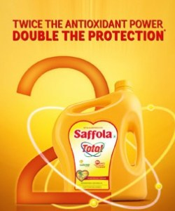 Saffola Total – The Right Kind of Cooking Oil for a Healthy Heart.