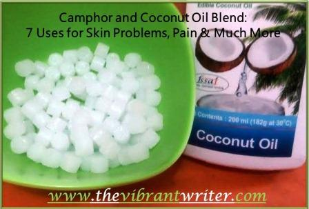 Camphor and Coconut Oil Blend