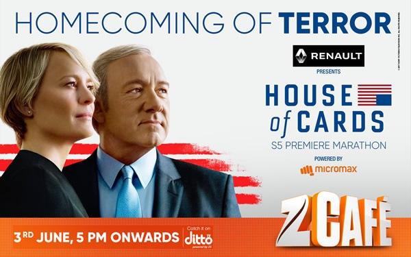 """'""""Homecoming of Terror"""": Review of House of Cards (Season 5 Episode 1)'"""
