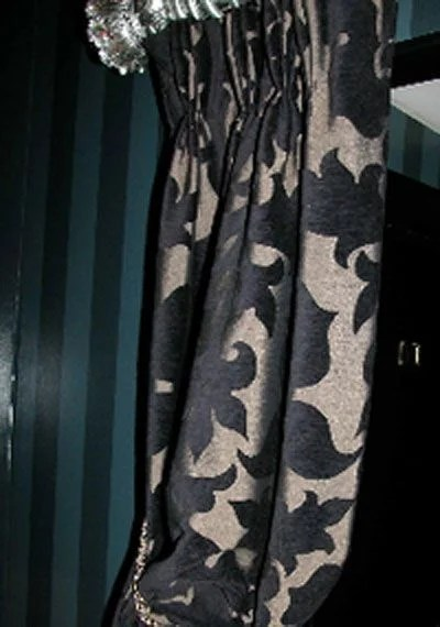heavy curtain fabric for winter weight