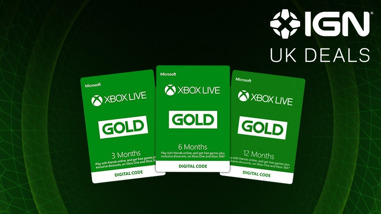 The best Black Friday Xbox Live Gold deals